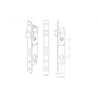 ΚΛΕΙΔΑΡΙΑ ΓΛΩΣΣΟΥ CISA LOGO 44820 35mm